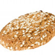 Oat cookie with sesame — Stock Photo