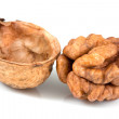 Stock Photo: Walnuts isolated