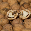 Walnut pile — Stock Photo