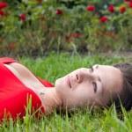 Girl relaxing — Stock Photo #40488887