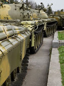 Eski Sovyet tank — Stockfoto