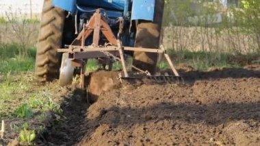 Tractor working — Stock Video