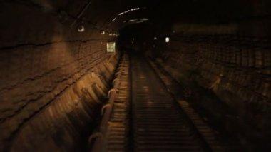 Tunnel della metropolitana — Video Stock
