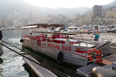 Bateau bus in Monaco . — Stock Photo