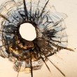 Bullet hole — Stock Photo #51640113