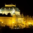 National Theatre in Prague — Stock Photo #8223394