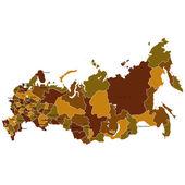 Russia — Vettoriale Stock