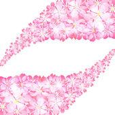 樱桃树 — 图库矢量图片