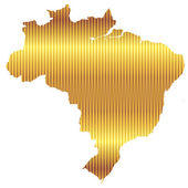 Brasilien — Stockvektor