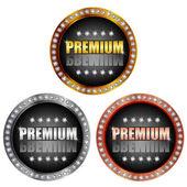 Premium medal — Stock Vector