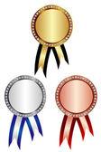 Medal frame — Stock Vector