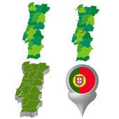 Portugal — Stockvector