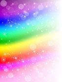 Kolorowa tęcza tło — Wektor stockowy