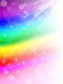 Colorful rainbow background — Stock Vector