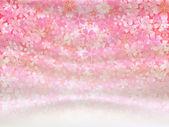 Růžové třešně pozadí — Stock vektor