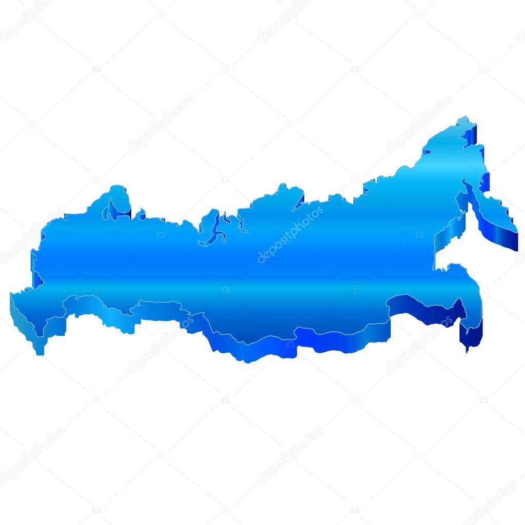 3D карта России — Векторное изображение © JBOY24 #22599109: http://ru.depositphotos.com/22599109/stock-illustration-3d-map-of-russia.html