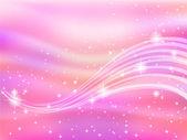 Background sky pink silk — Stock Vector