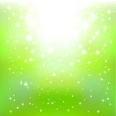 Background sky green light — Stock Vector