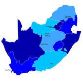 Republika południowej afryki — Wektor stockowy