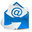 Vector de stock : Mail letter