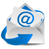 E-mail schreiben — Stockvektor