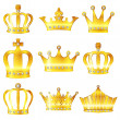 Crown crown diadem — Stock Vector #25040843