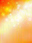 メープル オレンジ背景 — ストックベクタ