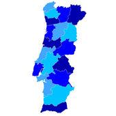 葡萄牙 — 图库矢量图片
