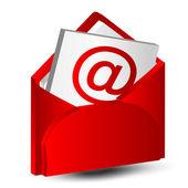 Icona di mail lettera — Vettoriale Stock