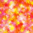 Maple autumn leaves background — Stockvektor