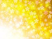 Wiśnia nowy rok s pozdrowienie tła — Wektor stockowy