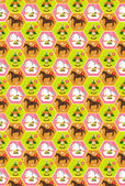 Pferd neujahr s grußkarte hintergrund — Stockvektor