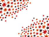秋のメープル — ストックベクタ