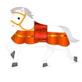карта s японии новый год лошади — Cтоковый вектор
