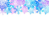 Christmas snow background   — Vector de stock