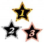 Star light gold — Stock Vector