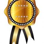 Gold medal frame — Stock Vector #34236401