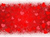 Fondo de corazón San Valentín — Vector de stock
