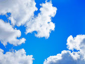 Sky landscape background — Stock Vector