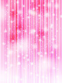 Cherry pink background — Vector de stock