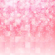 Stok Vektör: Tree sum pattern background of cherry