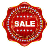 Medal frame Sale — Stock Vector