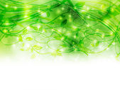 Plant leaf background — Stock Vector
