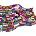 Flags world countries — Wektor stockowy