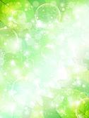 Leaf sky landscape — Vector de stock