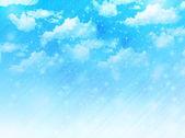 Небо облака пейзаж — Cтоковый вектор