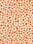 Fondo las hojas de otoño de arce — Vector de stock