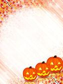 Halloween maple background — Stock Vector