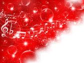 Nota de fondo musical musical — Vector de stock