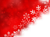 Christmas snow background — Stock Vector